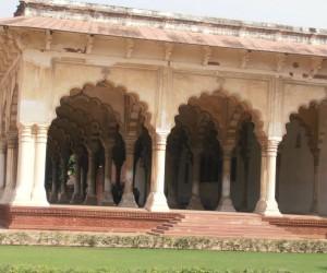 Diwan-e-am at Agra Fort