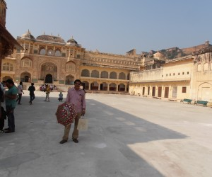 Dilip Singh our very good guide in Jaipur